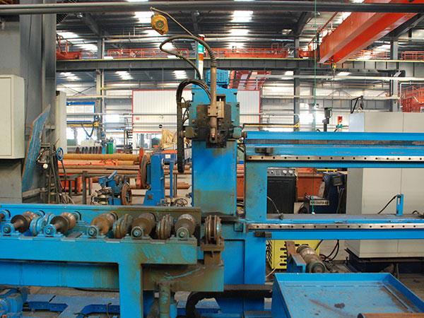 管法兰自动焊接生产线