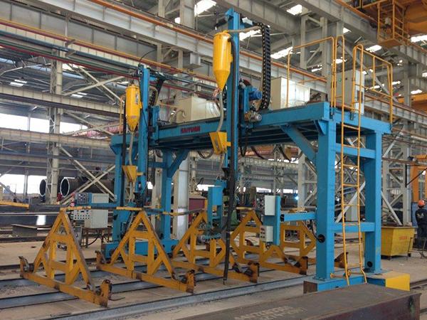 H型钢龙门式埋弧焊机