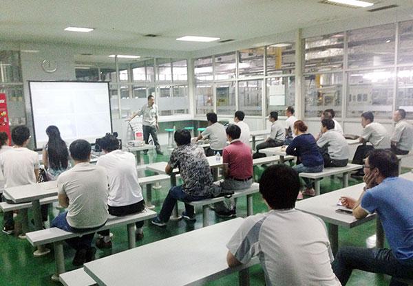 唐山开元集团制工委QC培训进行时