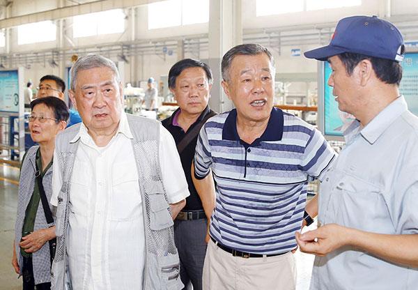 原机械部赵副部长来访