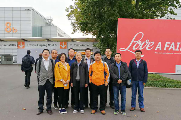 开元集团组团参观2017年德国埃森焊接与切割展览会