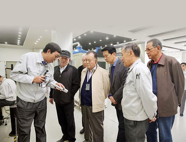 柳宝诚董事长邀请唐山市路南区退休老领导访问开元集团