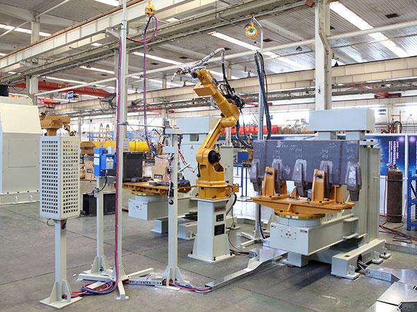 斗齿、轴座机器人焊接系统