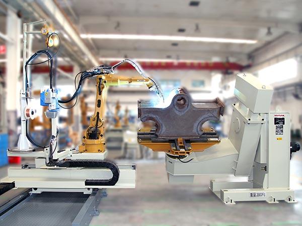 台车架机器人焊接系统