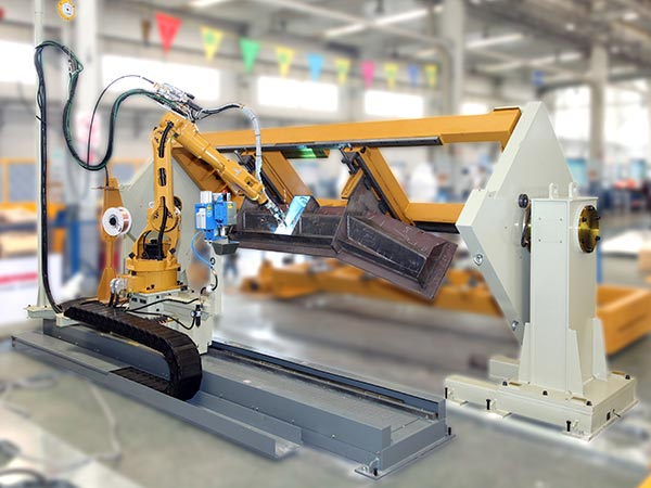刮板机器人焊接系统