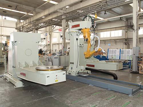 结构件机器人焊接系统