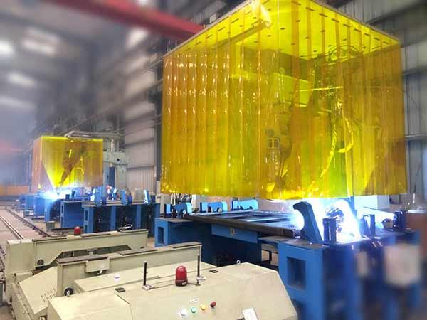 前、后挡板智能化柔性焊接生产线