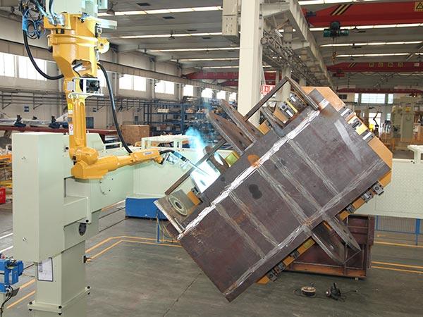箱体机器人焊接系统