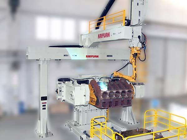 泵壳机器人焊接系统