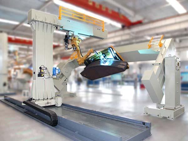 驴头机器人焊接系统