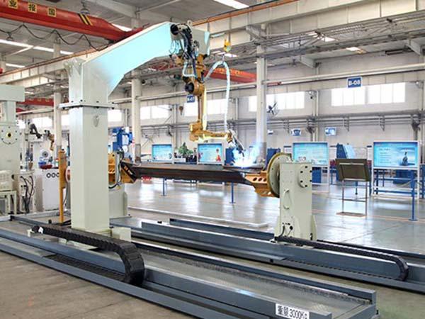 连杆、工字梁机器人焊接系统
