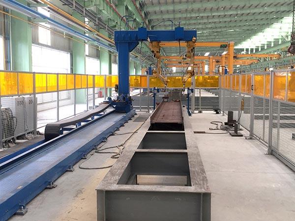 组立打底机器人焊接系统