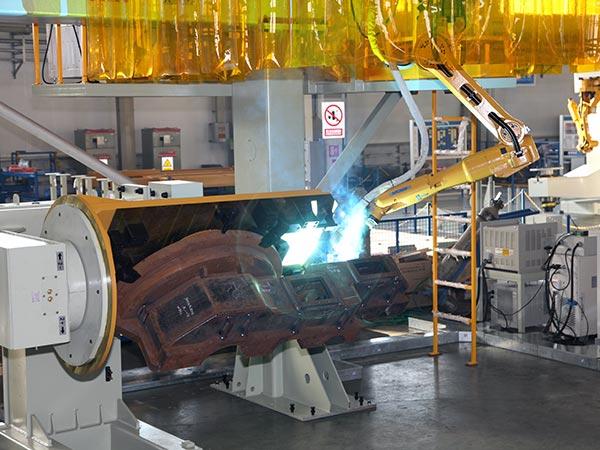 齿轮箱机器人焊接系统