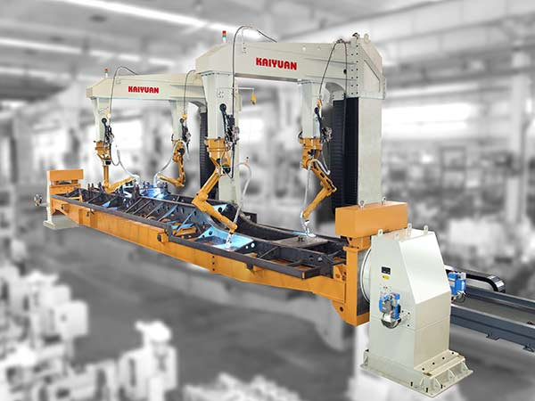 车架机器人焊接系统