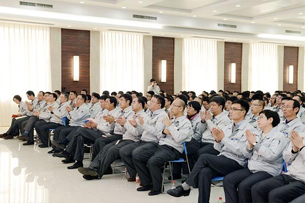 聊城宜地集团各公司召开2019年度经营方针发表会