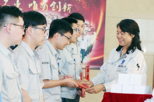 开元集团团委召开纪念五四运动一百周年暨优秀团员表彰大会