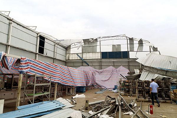 台风无情刮毁 松下服务给力